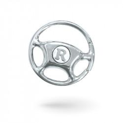 Steering wheel keychains