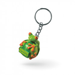 Custom rubber keychains...