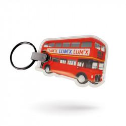Porte-clés lumineux PVC...