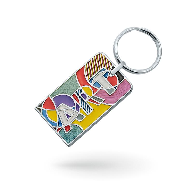 Fabrication d un porte-clés personnalisé publicitaires en métal, tous types  de formes ou tailles sur mesure. ddf64839987