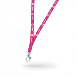 Promotional lanyards tubular
