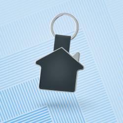 Porte-clé maison métal