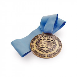 Customized medal in metal