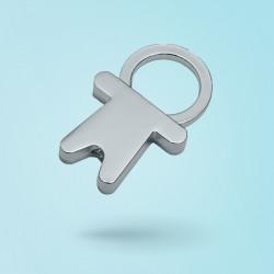 CAMEO - Porte-clés carré...