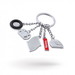 Custom metal keychains full 3D | Since 22 years