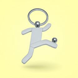 Porte-clé footballeur métal...