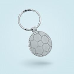 Porte-clé ballon métal