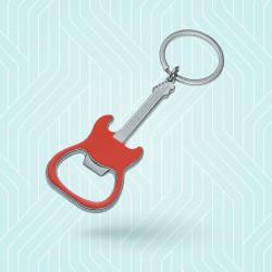 Porte-clé guitare métal