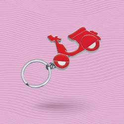 Porte-clé scooter métal