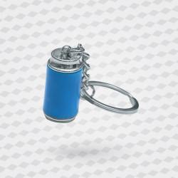 Porte-clé canette métal