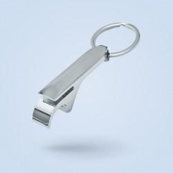 Porte-clé décapsuleur métal