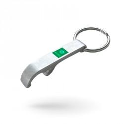 Custom-made metal keyrings...