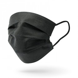Masque noir - non-tissé /...