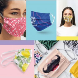 Masque microfibre personnalisé