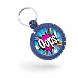 Porte-clés accroche-sac ABS