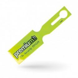 Étiquette bagage PVC sécurité