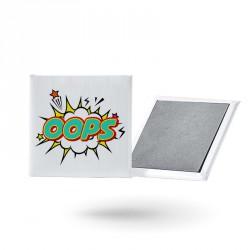 Magnet imprimé en étain...