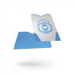 RFID-Blocking paper sleeve...