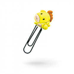 Custom PVC paper clip