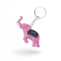 Figurine keychain in polyresin