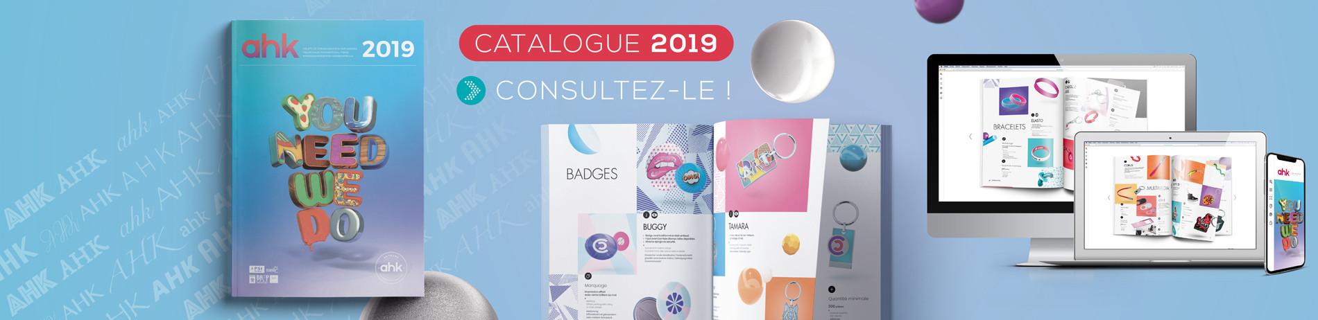 Catalogue 2019 - Consultez-le !